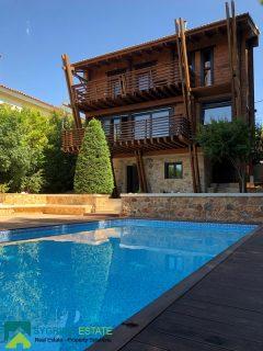 Luxury Detached Wooden House - Athens, Pikermi, Dioni • Πολυτελής Ξύλινη Μονοκατοικία - Αθήνα, Πικέρμι, Διώνη